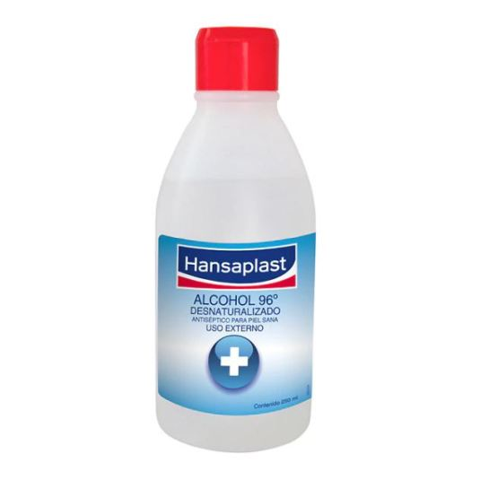 hansaplast alcohol 96º 250ml
