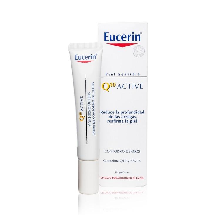 eurecin q10 active crema contorno de ojos piel sensible 15ml