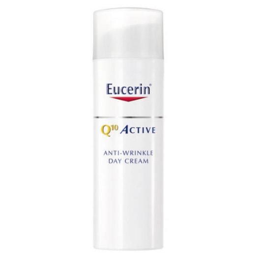 eucerin q10 active crema día pieles normales y mixtas antiedad spf15 50ml
