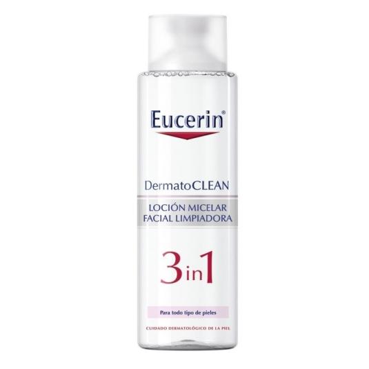 eucerin dermatoclean 3 en 1 solución micelar limpiadora 400ml