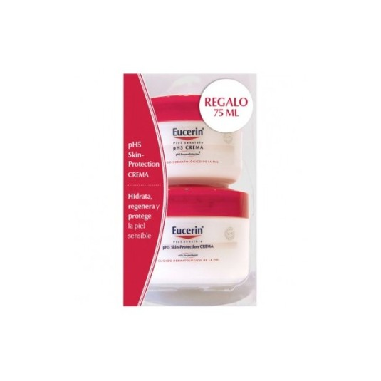 eucerin ph5 crema corporal piel sensible 100ml +75ml regalo