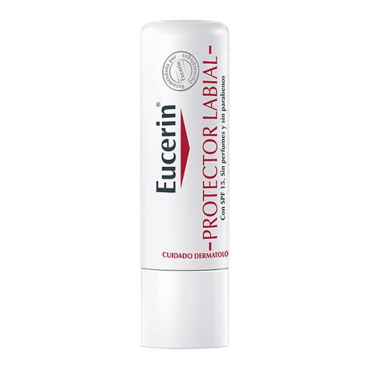 eucerin protector labial spf15 ph5 sin perfumes ni parabenos