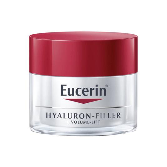 eucerin hyaluron-filler + volume-lift crema día antiedad restauradora volumen piel normal-mixta spf15 50ml