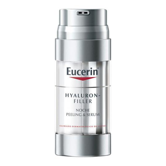 eucerin hyaluron-filler serum noche & peeling 30ml