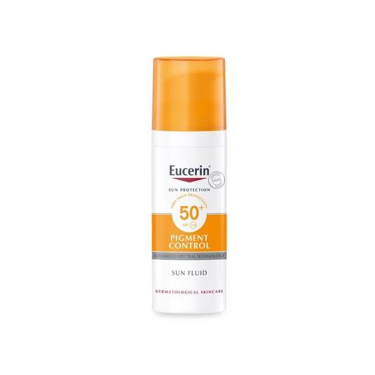 eucerin sun protection pigment control protector solar facial control hiperpigmentacion spf50+ 50ml