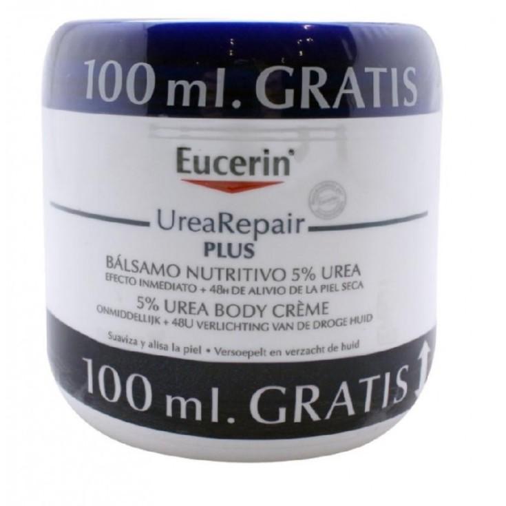 eucerin urearepair plus balsamo nutritivo 5% urea 450ml+100ml gratis