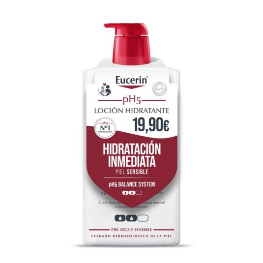 eucerin ph5 locion hidratante 1 litro precio especial