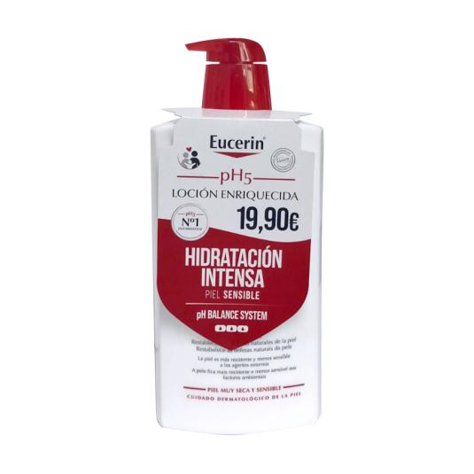 eucerin ph5 locion enriquecida corporal 1 litro precio especial