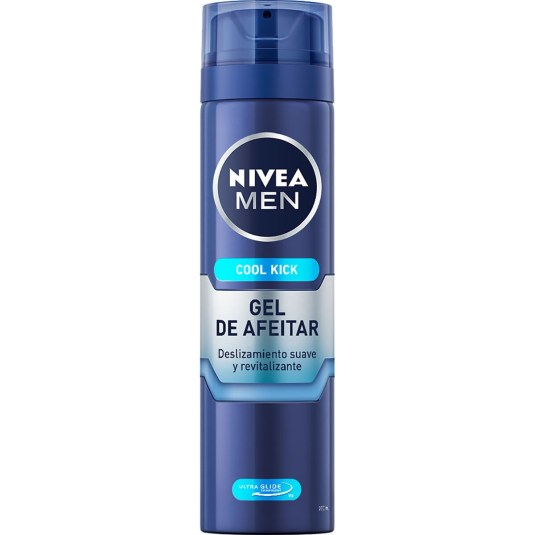 nivea men cool kick gel de afeitar refrescante spray 200ml