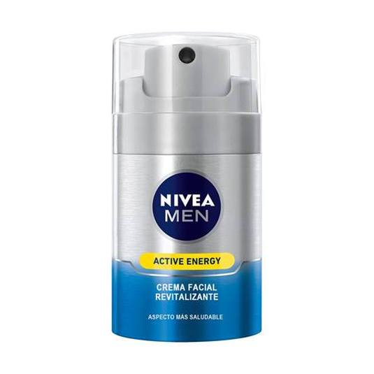 nivea men active energy crema facial revitalizante
