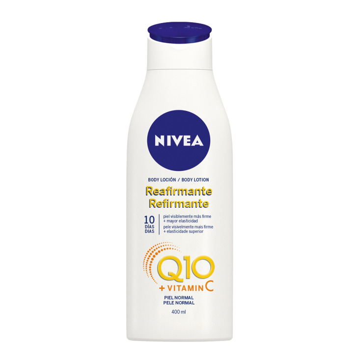 nivea q10 + vitamina c locion reafirmante 400ml