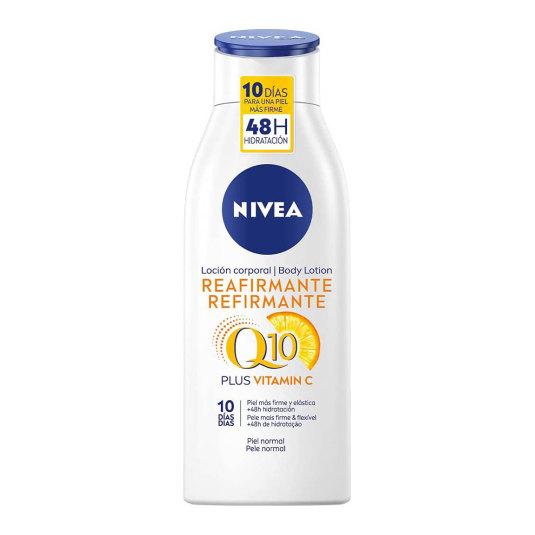 nivea q10 + vitamina c loción reafirmante 400ml