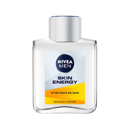 nivea men active energy after shave bálsamo 2en1 revitalizante