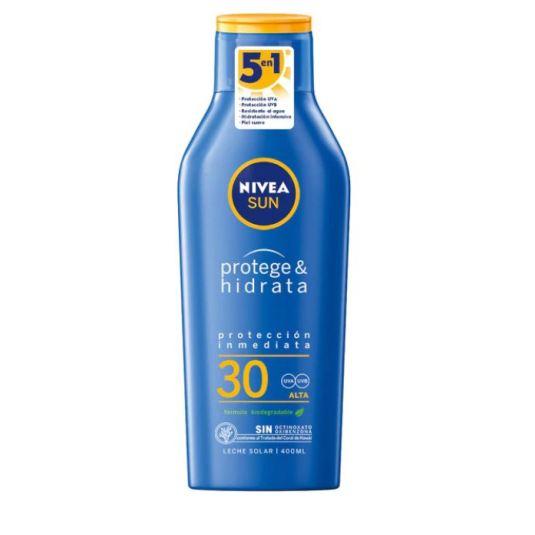 nivea sun protege & hidrata protector solar corporal spf30 400ml