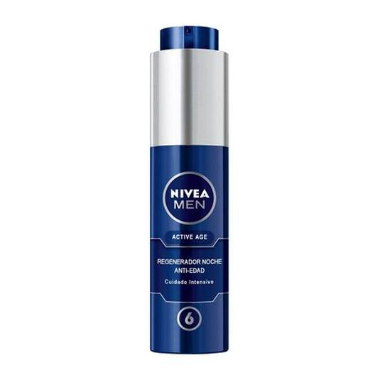 nivea men active age regenerador anti-edad noche 50ml