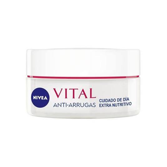 nivea vital anti-arrugas crema día extra nutritiva 50ml