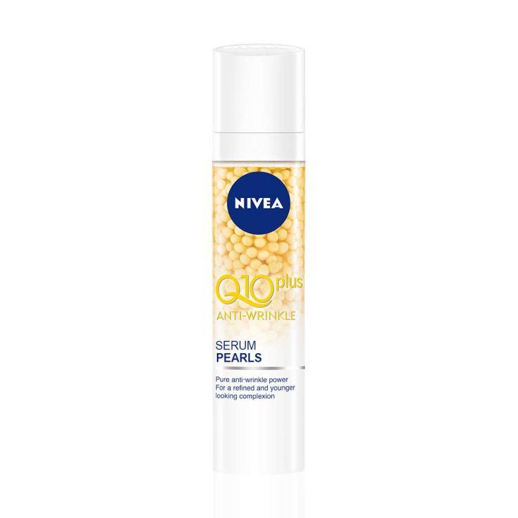 nivea q10 power anti-arrugas + firmeza serum en perlas 40ml