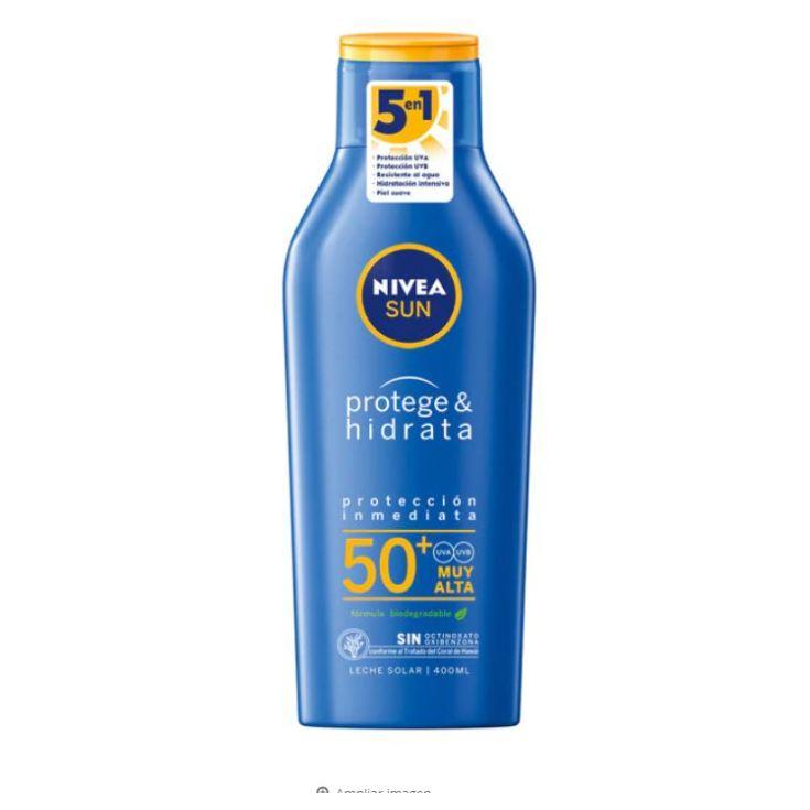 nivea sun protege & hidrata leche solar spf50+ 400ml