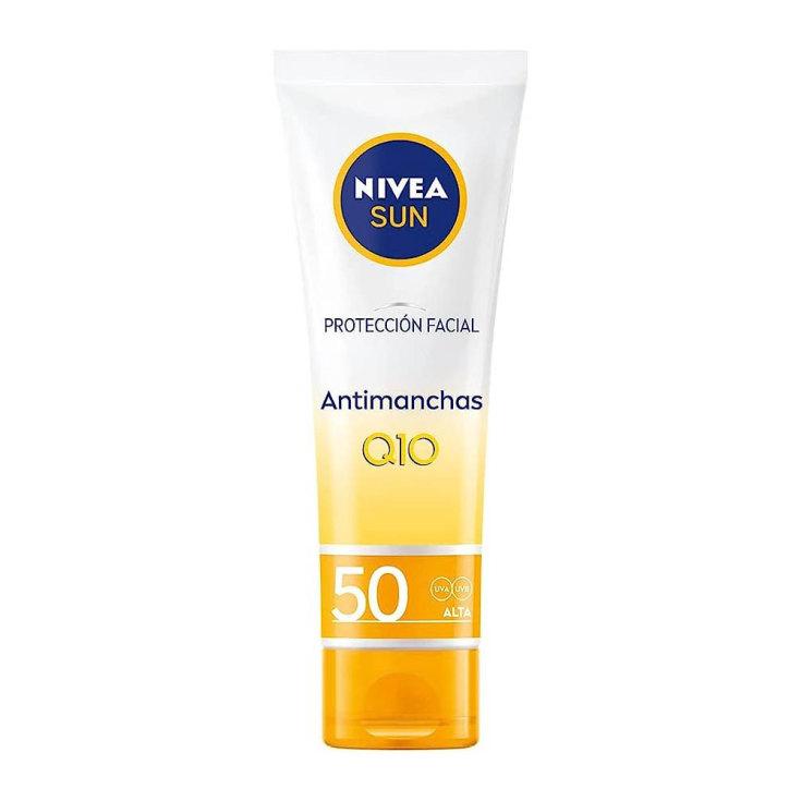 nivea sun q10 proteccion solar facial anti-edad & anti-manchas spf50 50ml