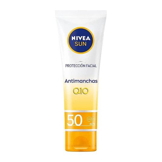 nivea sun protección facial anti-edad & anti-manchas spf-50 50ml