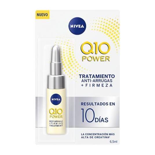 nivea q10 power ampolla tratamiento anti-arrugas +firmeza