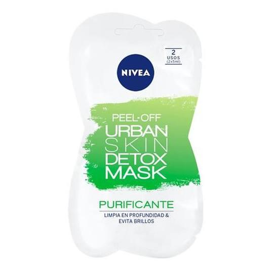 nivea peel-of urban detox mascarilla facial purificante