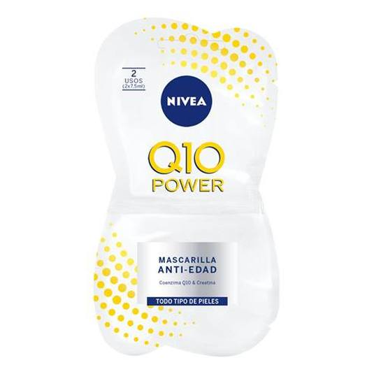 nivea q10 power mascarilla facial anti-edad