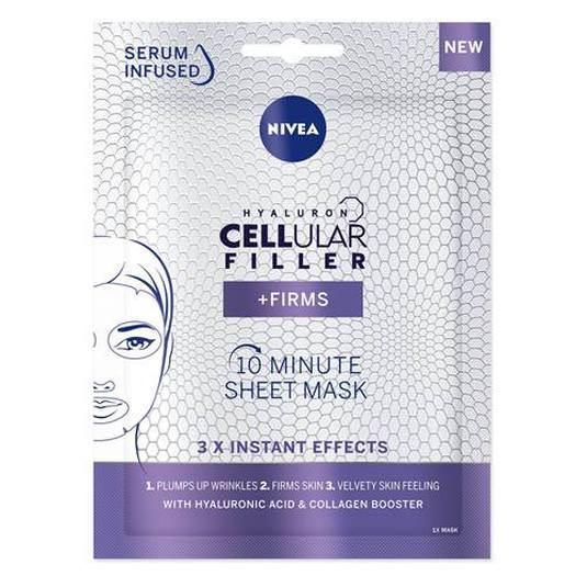 nivea hyaluron cellular filler mascarilla facial anti-edad