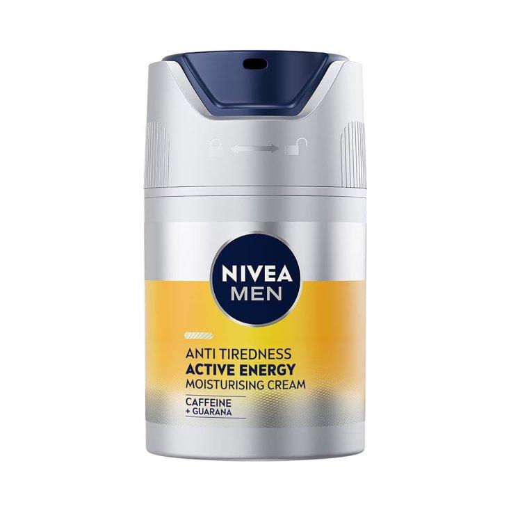 nivea men active energy hidratante facial revitalizante dosificador 50 ml