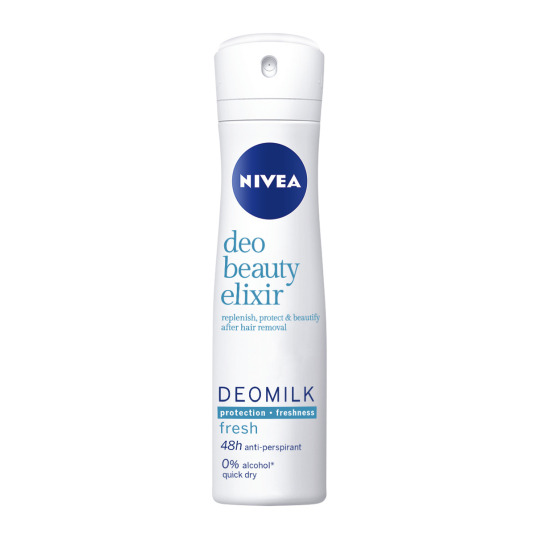 nivea deomilk fresh desodorante spray 150ml