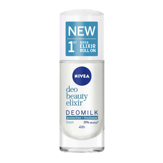 nivea deomilk fresh desodorante roll-on 40ml