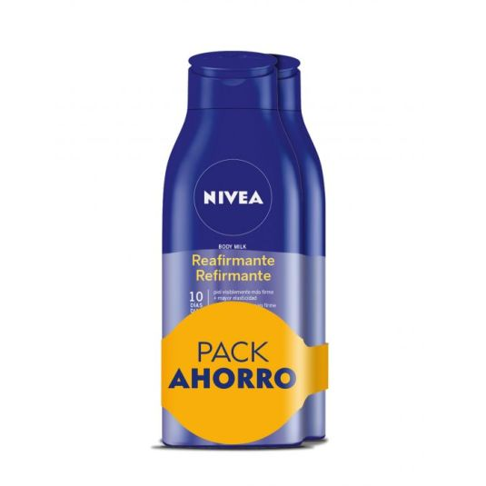 nivea q10 body milk reafirmante duplo 2x400ml