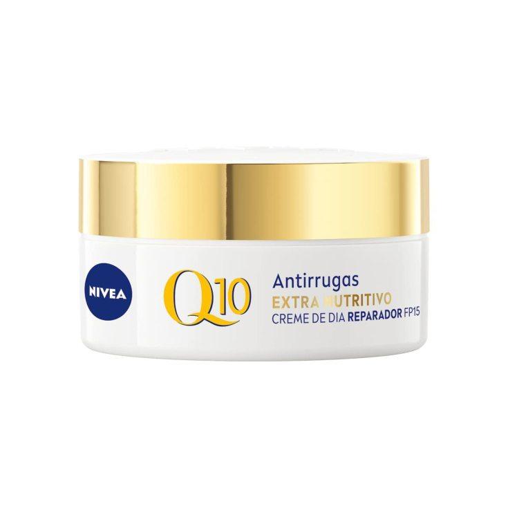 nivea q10 power anti-arrugas + extra-nutritivo crema día spf15 50ml