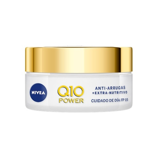 nivea q10 power anti-arrugas + extra-nutritivo crema dia spf15 50ml