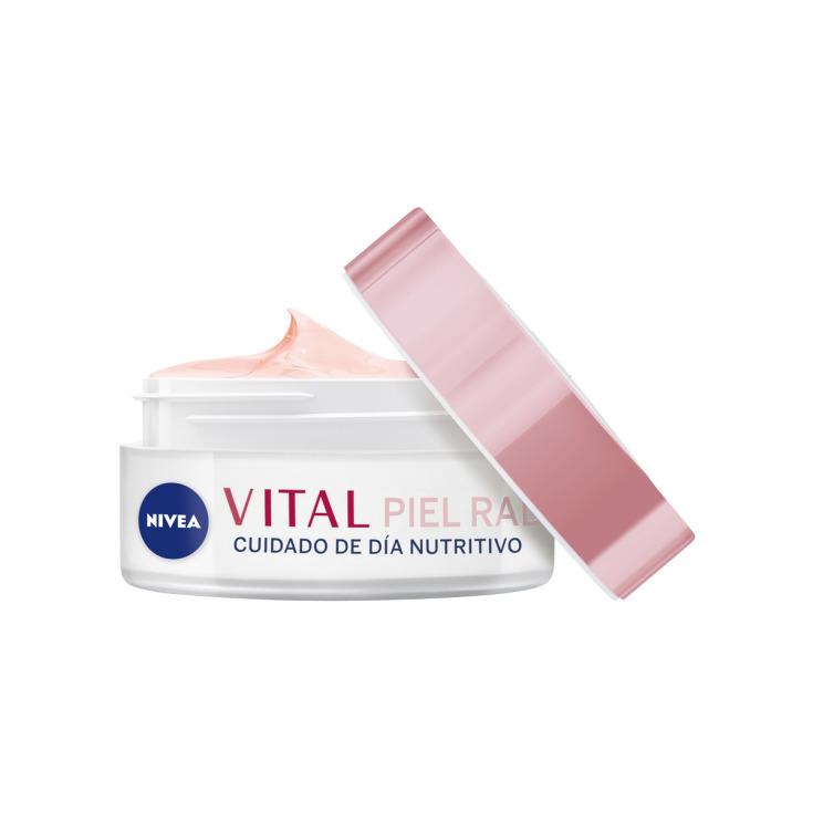 nivea vital piel radiante cuidado de día nutritivo piel madura 50ml