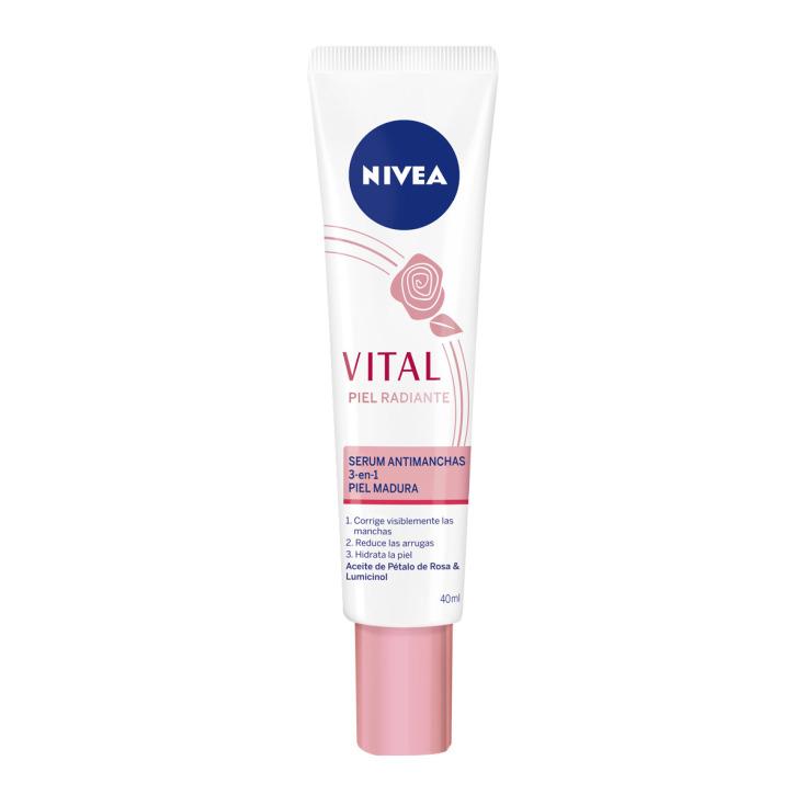 nivea vital piel radiante serum antimanchas 3 en 1 40ml