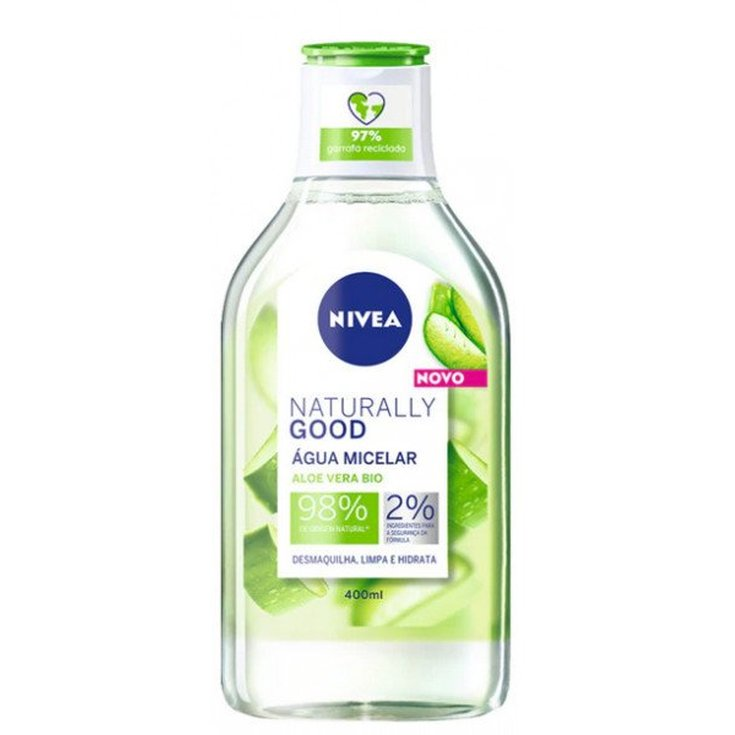 nivea naturally good agua micela aloe vera bio 400ml