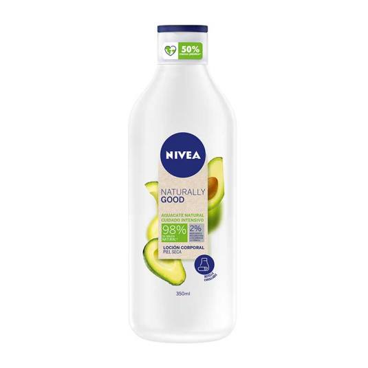 nivea naturally good locion corporal aguacate cuidado intensivo 350ml