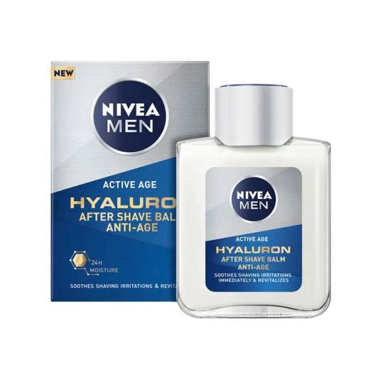 nivea men active age hyaluron balsamo after shave antiedad 100ml