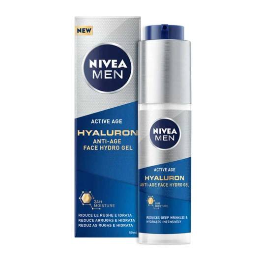 nivea men hyaluronhidra gel facial antiedad 50ml