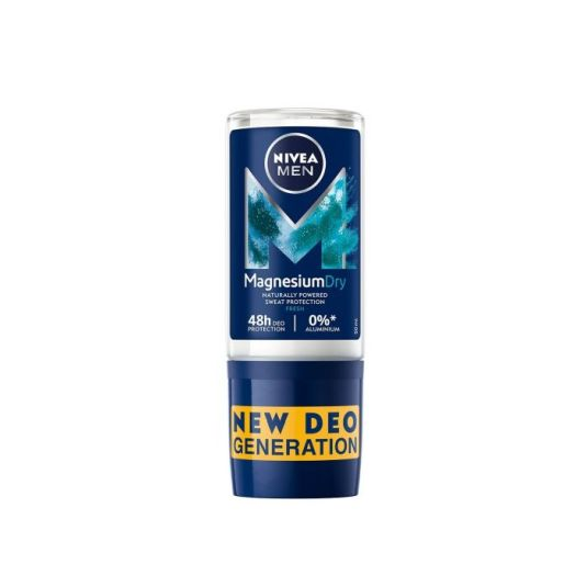 nivea men desodorante roll-on magnesium dry fresh roll-on 50ml 48 horas