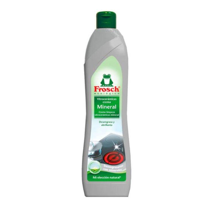 frosch limpia vitroceramica crema mineral ecologico 500ml