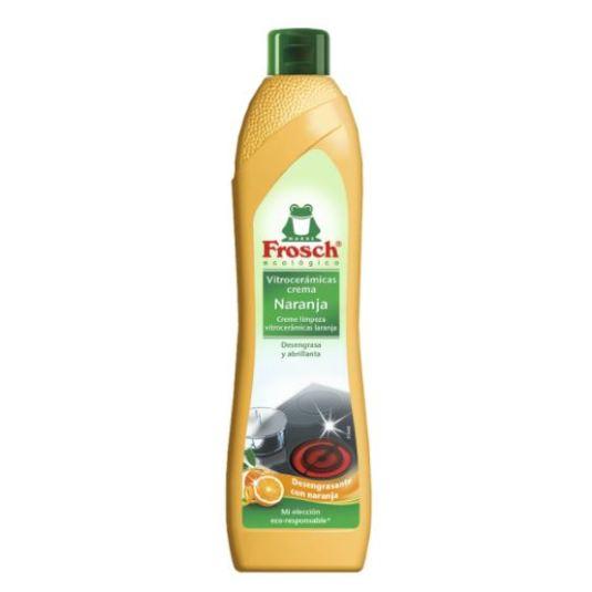 frosch crema naranja limpiador vitroceramicas 500ml