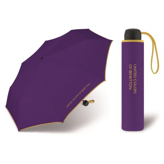 paraguas benetton super mini violeta