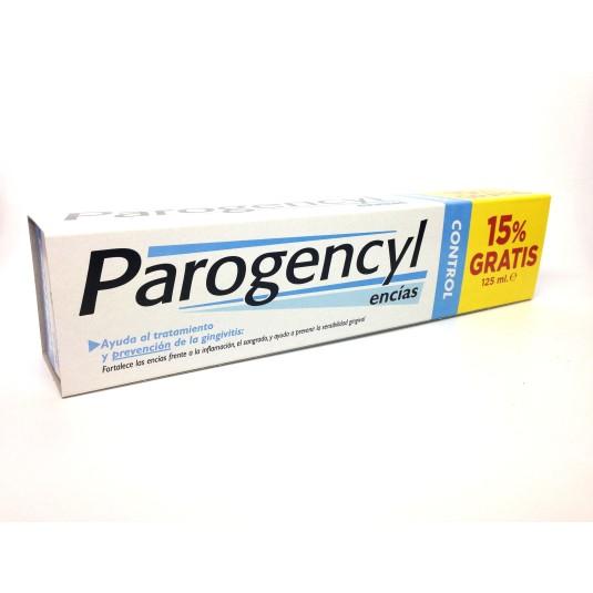 parogencyl control pasta 125 ml+15% gratis