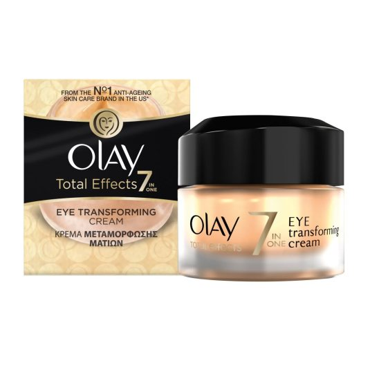 olay total effects crema transformadora de ojos 15ml