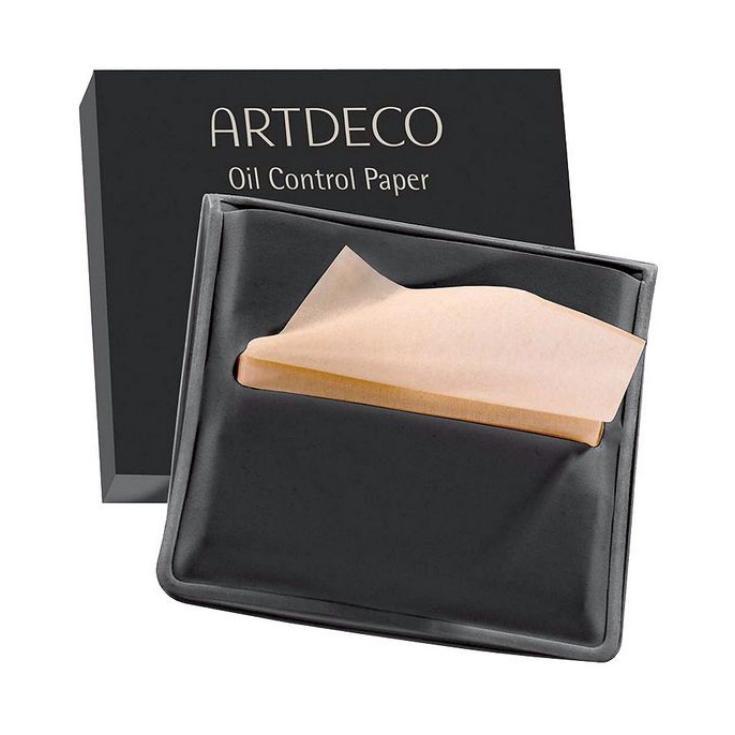 artdeco oil control paper papel matificante estuche 100uds