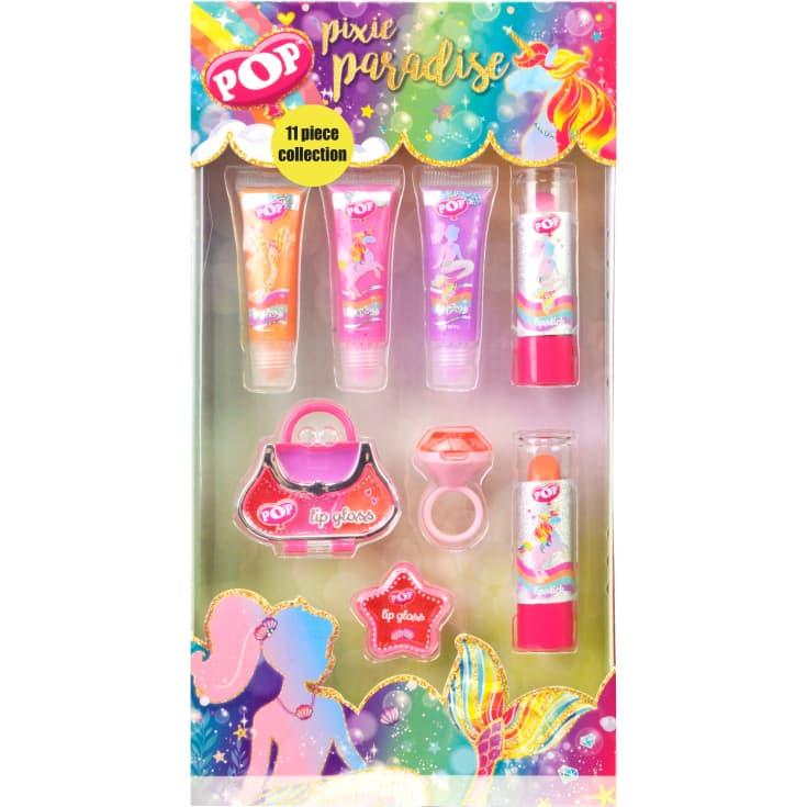 markwins pop estuche pixie paradise set de maquillaje de labios