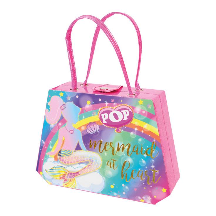 markwins pop fashion fantasyland mermaid & unicorn  bolso maquillaje infanil