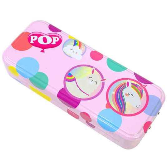 markwins pop girl estuche maquillaje unicornio-llama infantil
